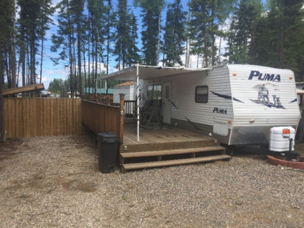2007 Palomino Puma Trailer + Candle Lake Lot Combo