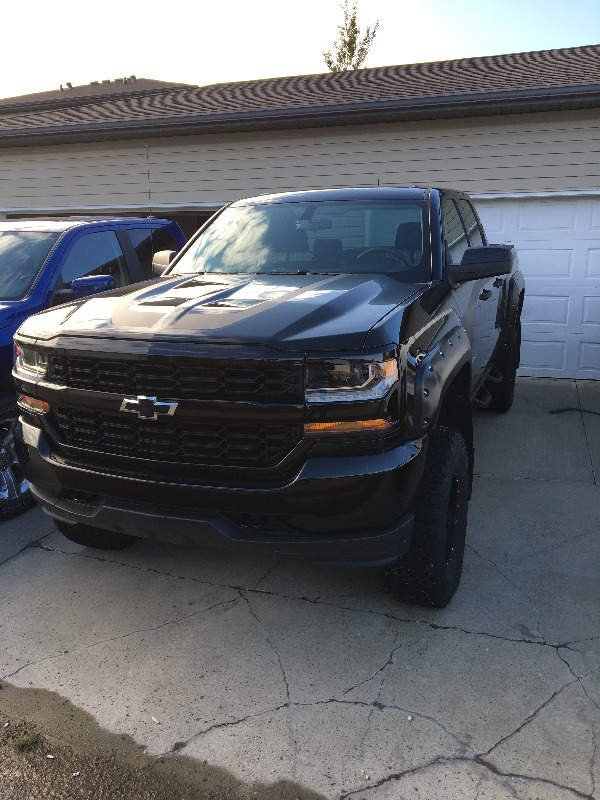 2017 Chevrolet So;veradp 1500 4x4
