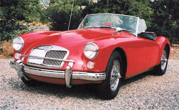 1960 MGA 1600 Mark II